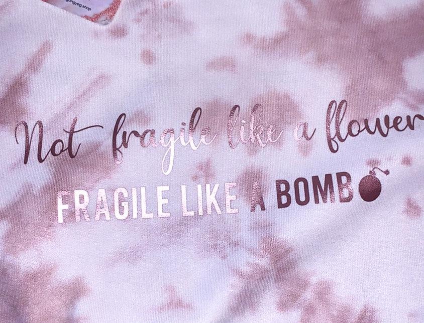Fragile Like a Bomb Crewneck