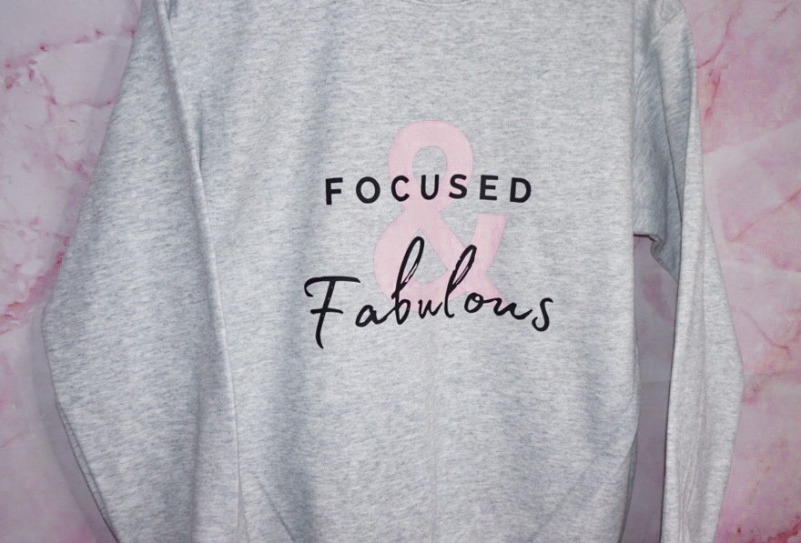 Focused & Fabulous Crewneck