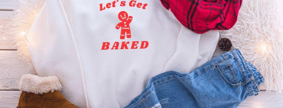 Let's Get Baked Crewneck
