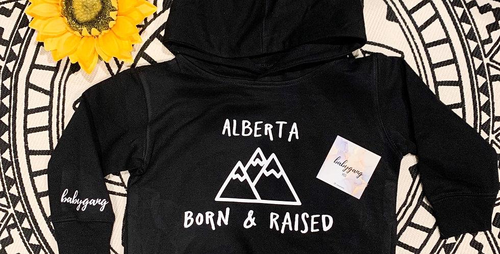 Alberta Born & Raised Hoodie