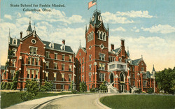 State School for Feeble Minded, Columbus
