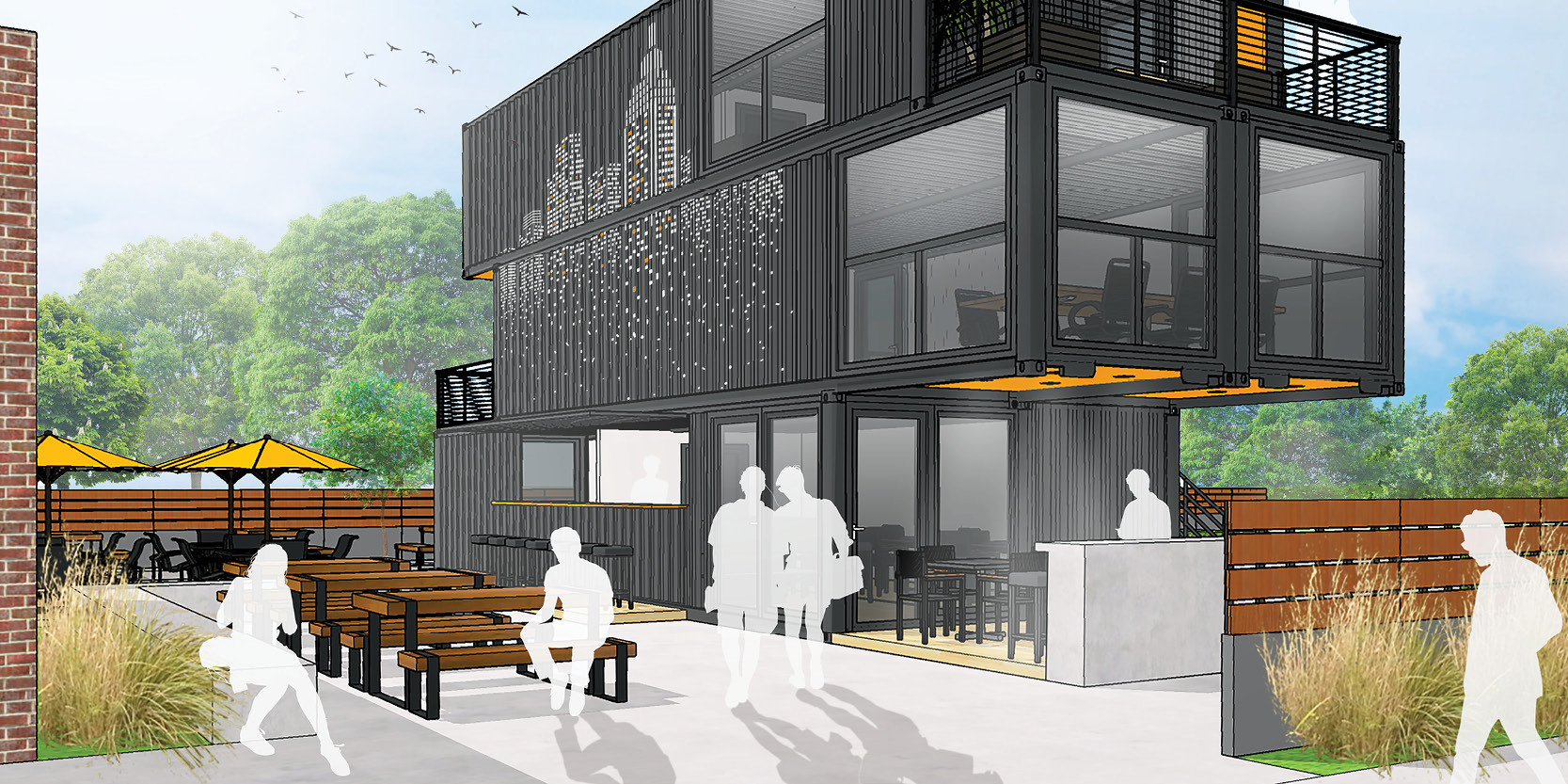 _________ East Main Street Shipping Container Concept
