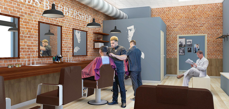 _______ Good Hands Barbershop Concept