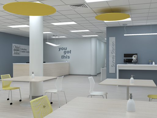 Space planning for a new normal. NDC helps improve interior office space for local nonprofit