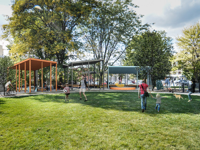 Italian Village Pavilion Competition