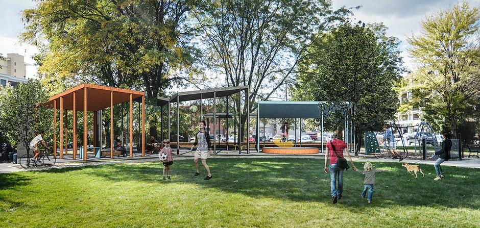 "_________ Winning Design ""Five Pavilions"" – Tim Lai Architects"