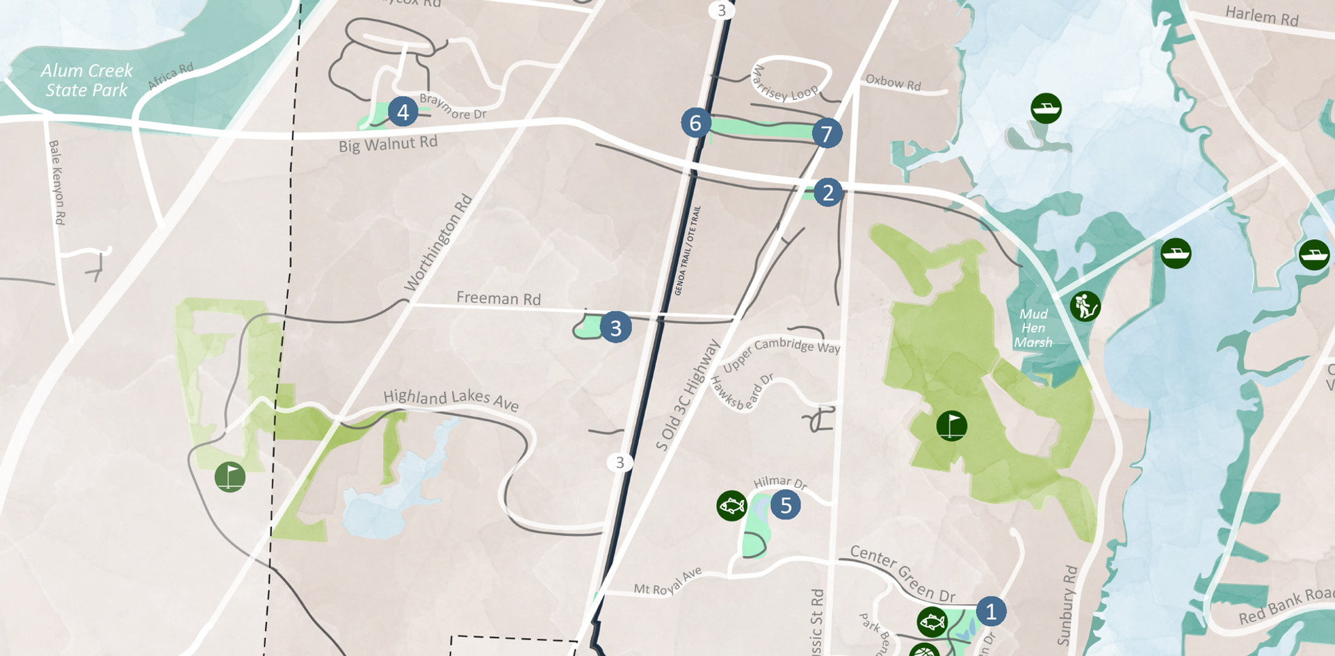 _______ Genoa Township Parks Map