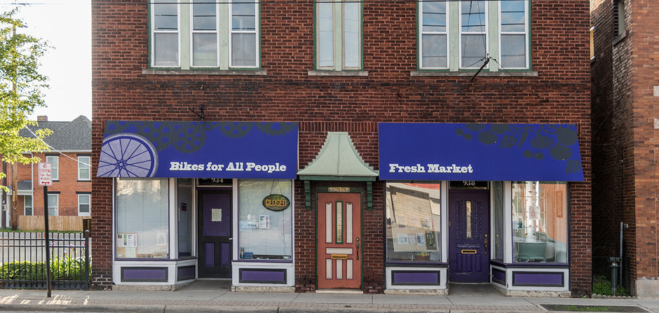 _________ Bikes for All People / All People's Fresh Market