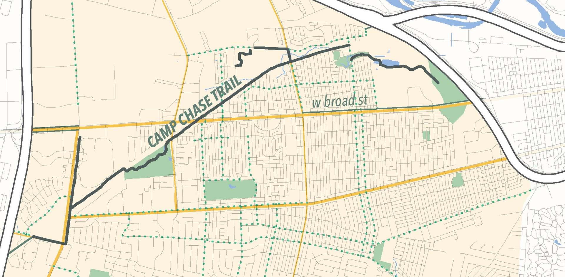 _________ Hilltop Community Plan mapping