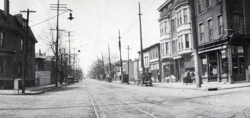Columbus History: East Long Street in 1933