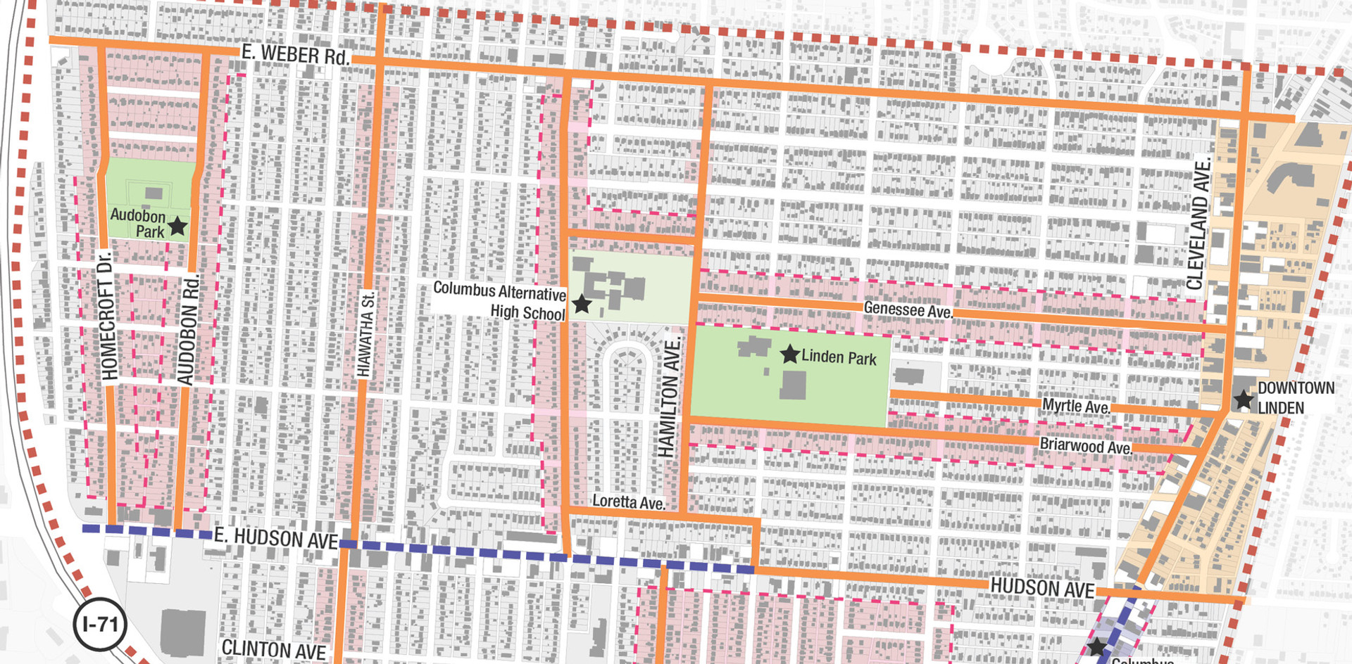 _________ Linden Community Plan mapping