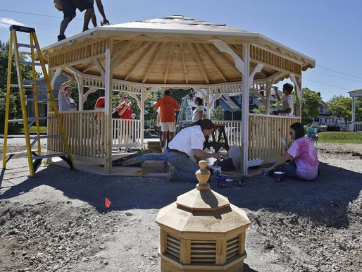 Linden Miracle Garden Supported by Parcels to Places Project