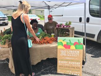 Linden Farmers Market Graphics