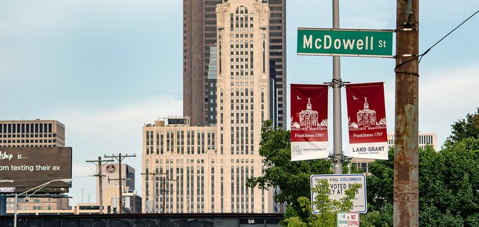 _________ Franklinton Commemorative Street Banners