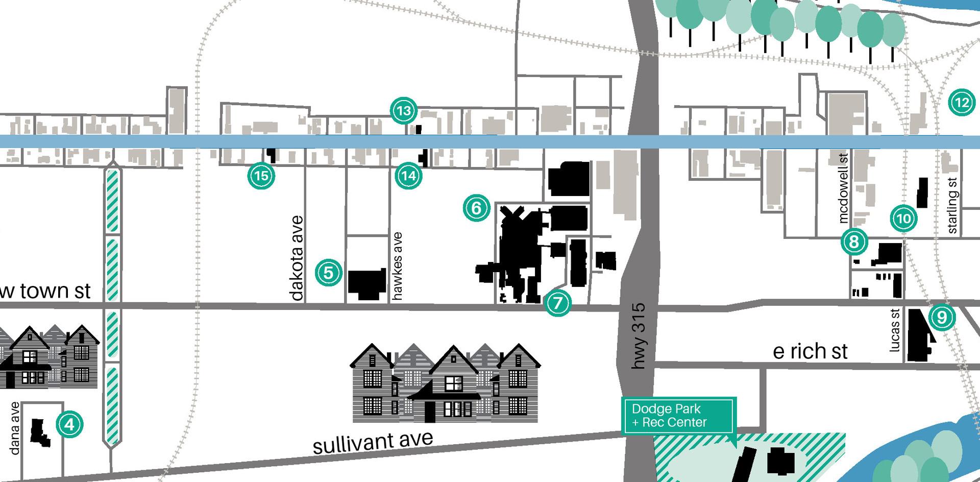 ________ Franklinton Area Map