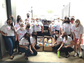 Distribuição Planalto doa 1000 kits para crianças carentes