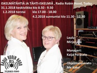 MeKaksi Radio Robin Hoodissa