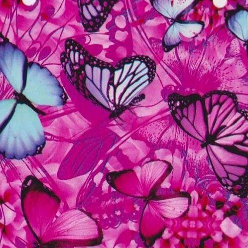 Purple  / Blue Butterflies