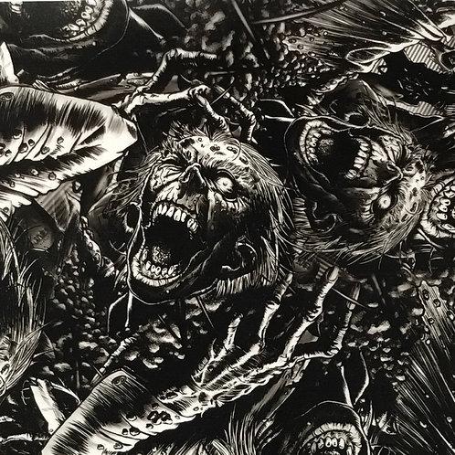 Black & Clear Zombie Grave Creeper