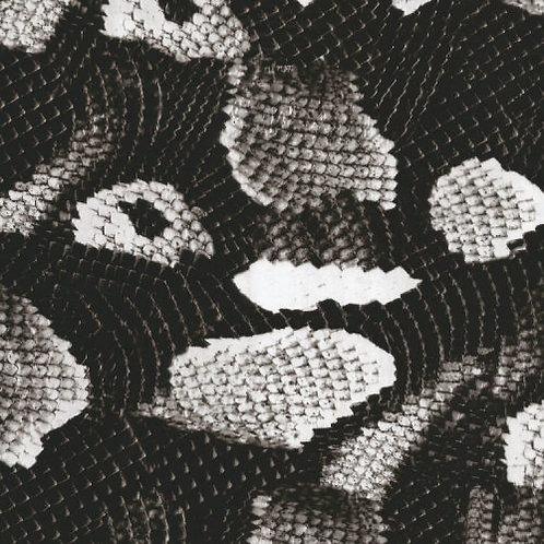 Black & Transparent Boa