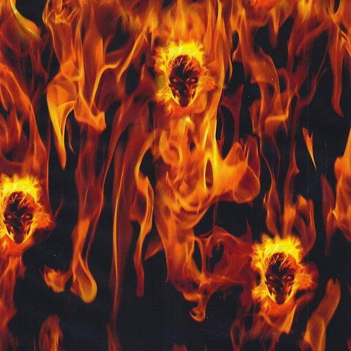 Hydro Dip Fire Skulls