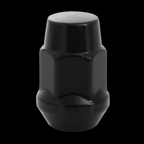 "1/2""RH Acorn Nut Bulge 19MM Black Chrome"
