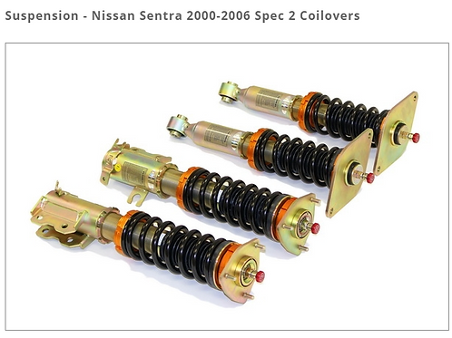 NISSAN SENTRA 2000-2006 SPEC 2 COILOVERS