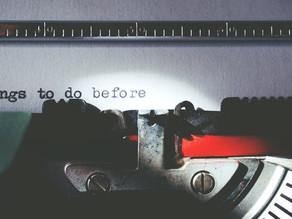My Writing Wishlist   A Novelist's Bucket List