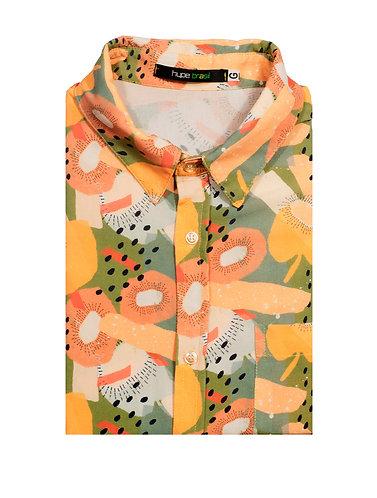 Camisa Abstract Kiwi