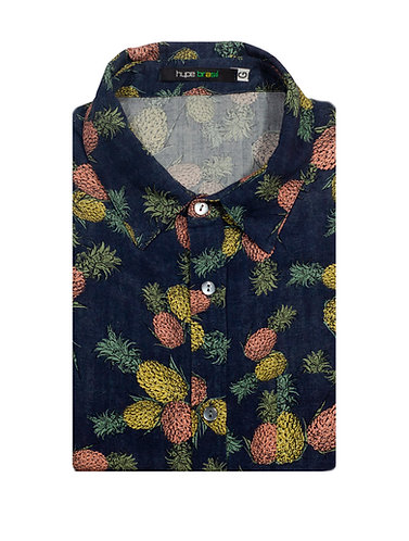 Camisa Abacaxis Maravilhoser