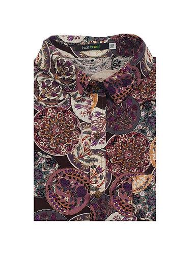 Camisa mandalas vintage