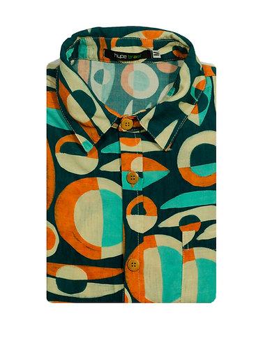 Camisa Rupestre Círculos