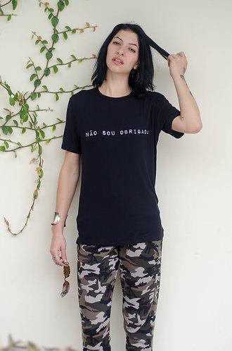 "T-shirt ""Obrigada"""
