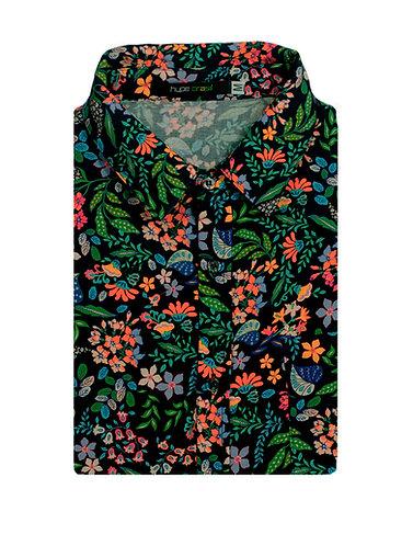 Camisa Marinho Floral