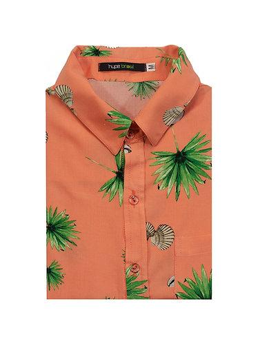 Camisa Búzios Coral