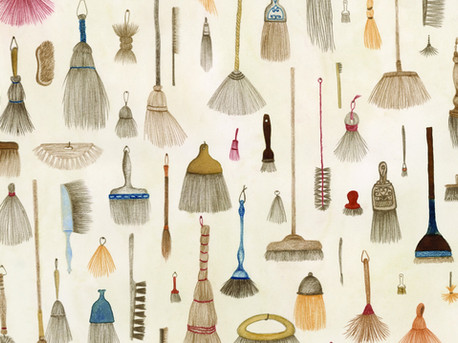 BROOMS DANCING IN THE WINTER