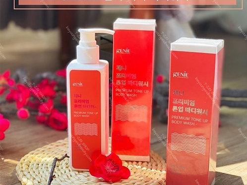 Premium Tone Up Body Wash Genie 350ml Brighten Skin Tone