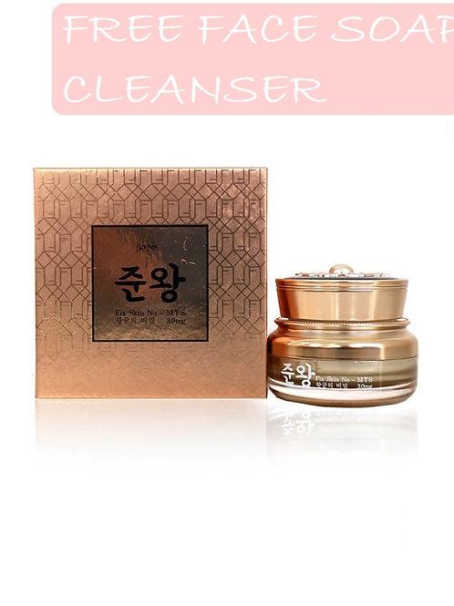Genie scar Non Fix Skin Cream Made in Korea FREE FACE SOAP CLEANSER