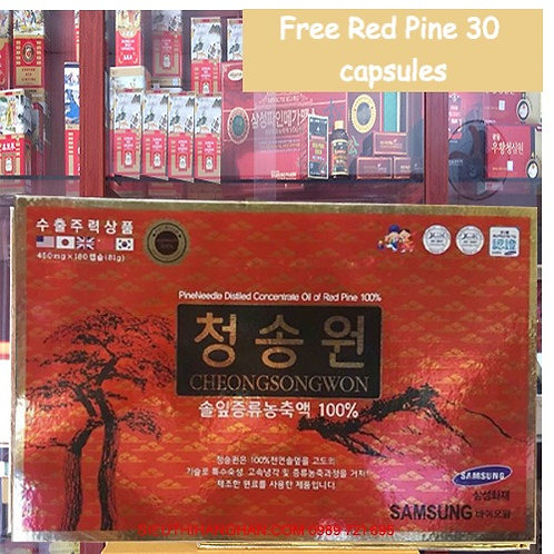 Pine Needle Distilled Concentrate Oil of Red Pine/Cheong Song Won