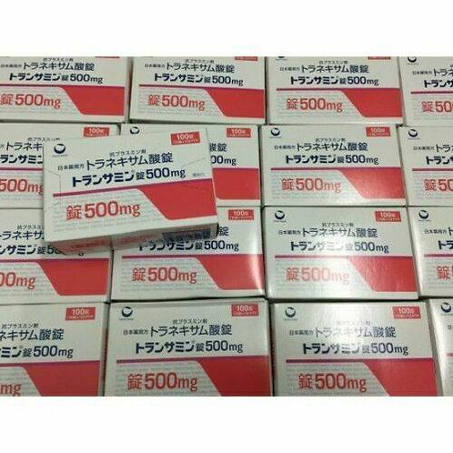 New Version Transamin melasma 500mg Japan 100 tablets DAMAGED BOX