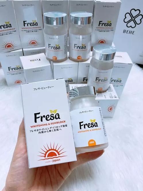 NEW VERSION 2020 Fresa - Whitening & Sunblock (Made In Japan) 60 capsules