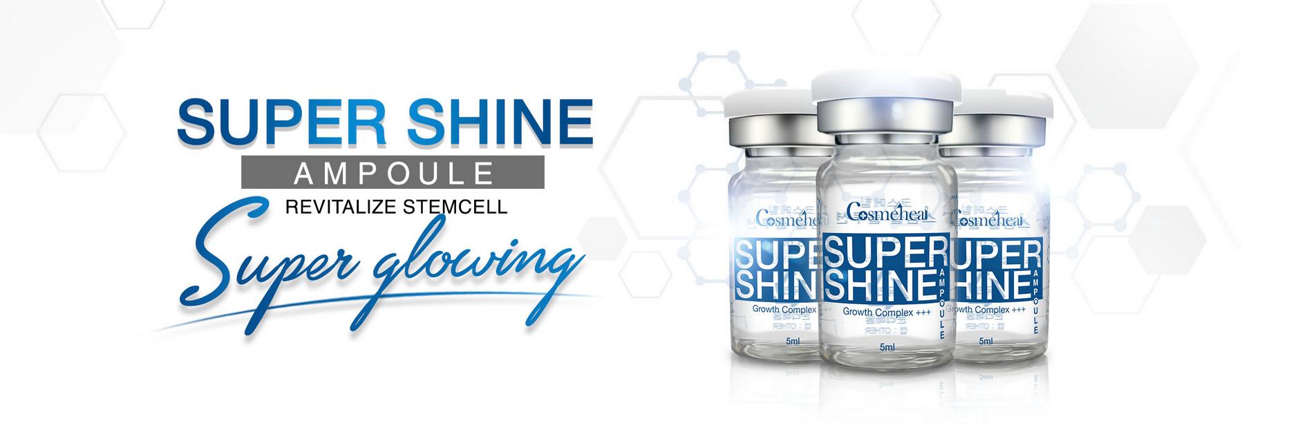 Cosmeheal Supershine Ampoule 4 per box