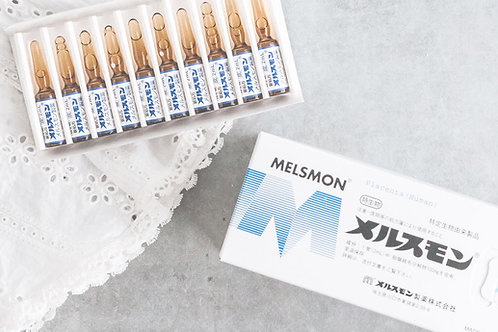 Melsmon placenta injection for anti-aging & skin rejuvenation 50 VIALS / 2ML