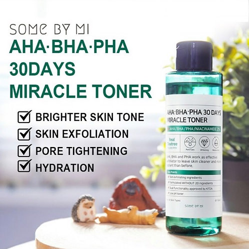 [SOME BY MI] *Time Deal* AHA BHA PHA 30 Days Miracle Toner & Serum