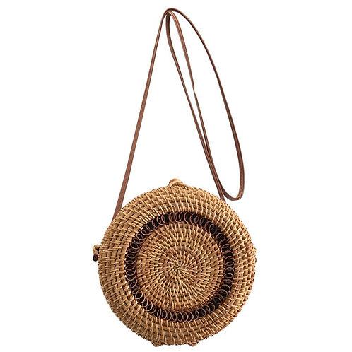 Handmade Cross-body  Rattan Straw Bags