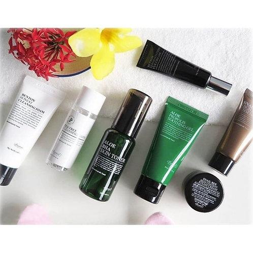 Benton Travel Kit Set 7pcs + Free Japanese Skincare Samples