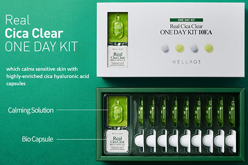 WELLAGE - Real Cica Clear One Day Kit 10-Day Set