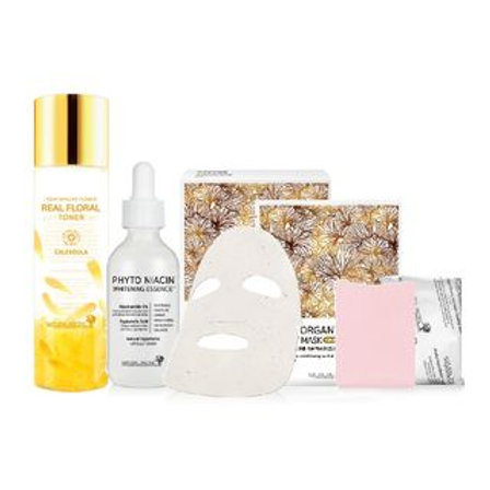 NATURAL PACIFIC - Whitening Brightening Korean Gift Set ( 9 pcs)