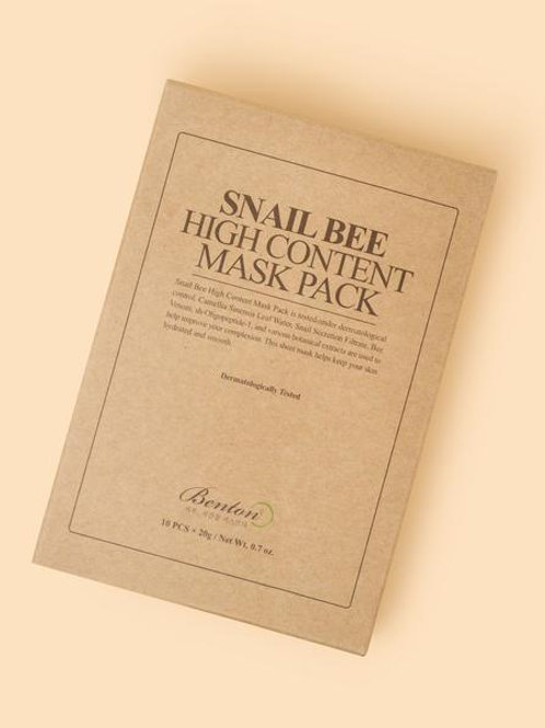 Benton - Snail Bee High Content Mask 1 Pack
