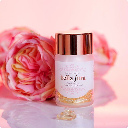 BELLA FORA DAMASK ROSE PILL- The Fragrance of Youth 35 capsules